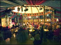 The Spiegeltent, Challengers' Field